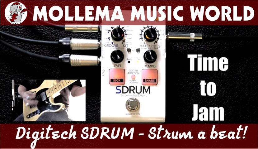Digitech SDRUM Strum a beat!