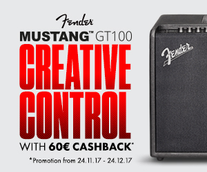 Fender Mustang GT100 cashback